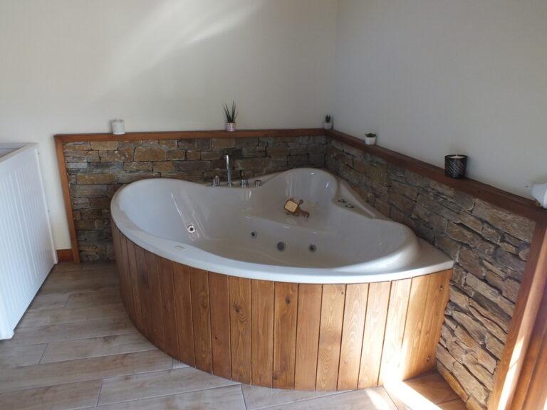 Apartamento con bañera hidromasaje